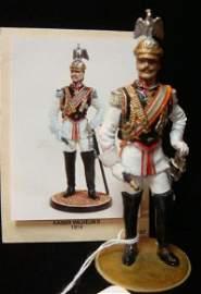 90MM Model Soldier by Ron Cameron, KAISER WILHELM II: