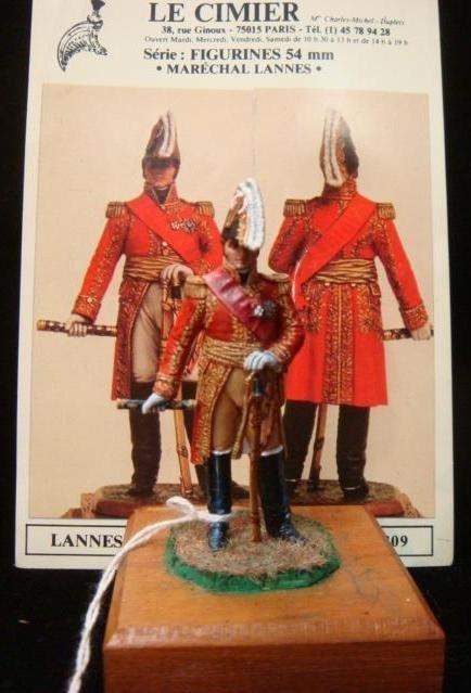 """54mm Model Soldier by Bruno Leibovitz, """"LANNES"""":"""