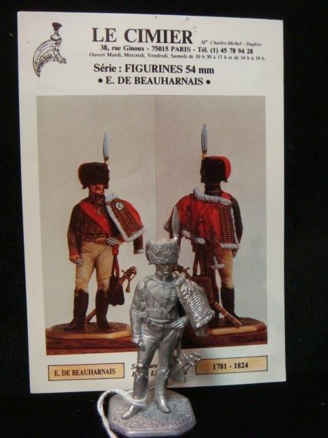 """54mm Model Soldier by B. Leibovitz """"E de BEAUHARNAIS"""":"""