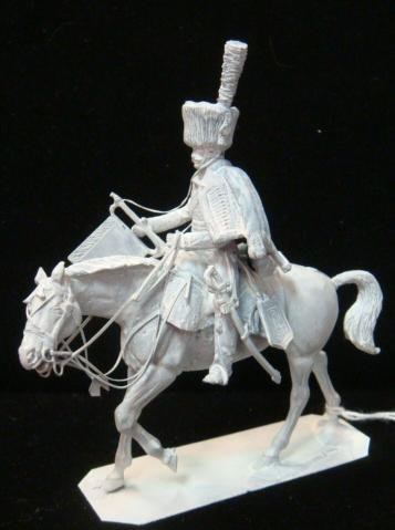 """54mm Model Soldier """"CHASSEUR A CHEVAL TRUMPETEER"""":"""