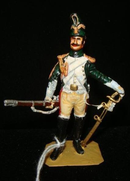 "54mm Model Soldier, Chas Stadden ""NAPALEONIC DRAGOON"":"