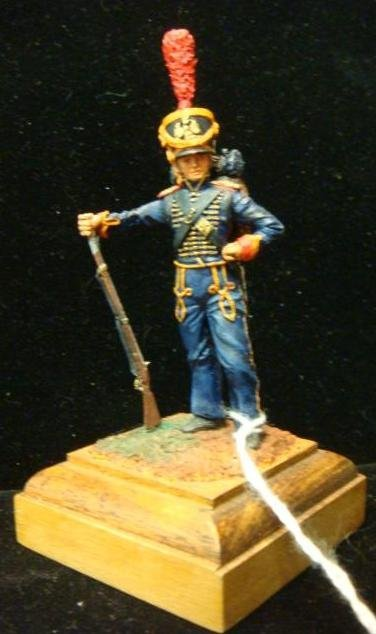 """54MM Model Soldier, Napoleonic """"Fusilier of Marines"""":"""