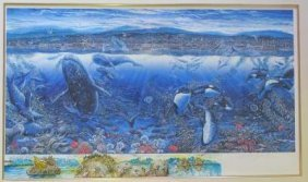 Robert Lyn Nelson Signed Limited Edition Seascape: