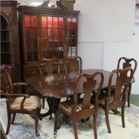 Cherry 10pc Dining Set By Statton Trutype Americana: