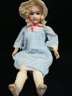 Heinrich Handwerck Bisque Head Doll: