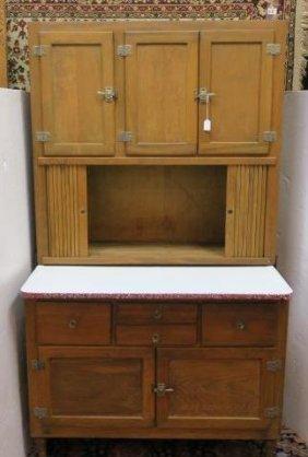 Early 20thc. Hoosier Cabinet: