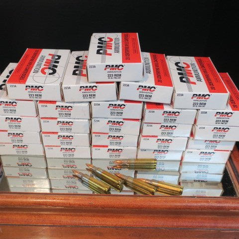 500 Rds. of PMC .223 REM Centerfire Rifle Cartridges: