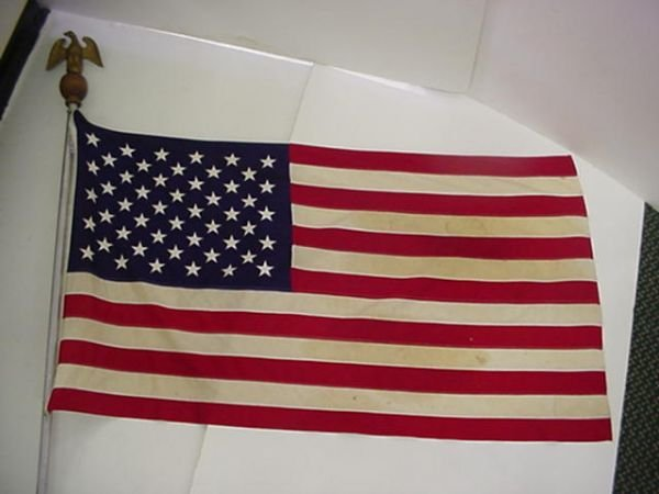 1, Flag of the United States of America: Flown over the