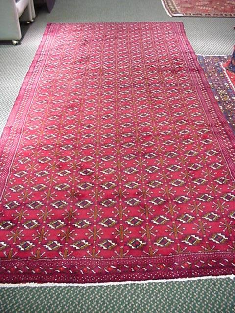 10, Hand Loomed All Wool Iranian Balouch Runner: 11' 5""