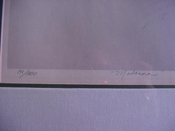 275, BRENDA JOYSMITH, Madonna, Lithograph: Signed and N - 2