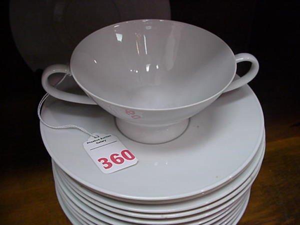 360, Rosenthal Classic Modern White Dinnerware: Form 20 - 2