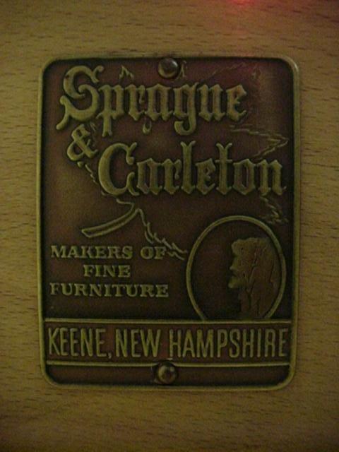 473: Sprague Carleton Maple 11 Drawer Chest: - 2