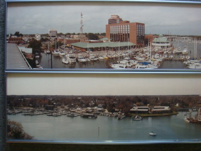 Two Landscapes of Old Downtown Hampton: