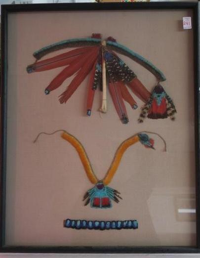 Amazon Rainforest Feathered Shaman Adornments: