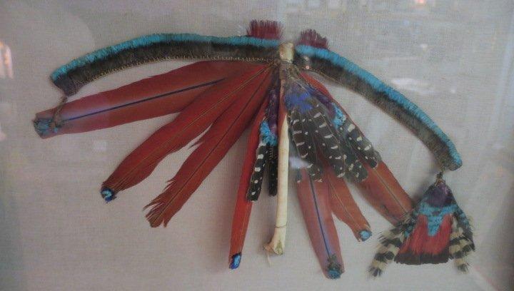Amazon Rainforest Feathered Shaman Adornments: - 2
