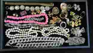 Costume Pins/Earrings/Necklaces & Bracelets: