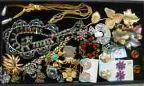 Group of New and Vintage Costume Jewelry:
