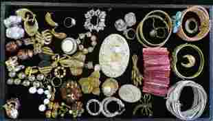 Costume Rings, Pins, Bangles, and Earrings: