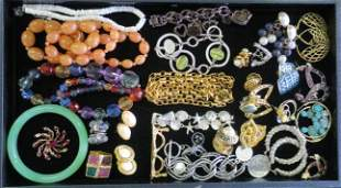 Collection of Costume Jewelry with Famous Makers: