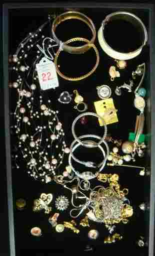 Collection of Costume Jewelry: