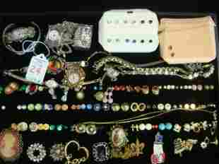 70 Pieces of Assorted Costume Jewelry: