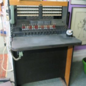 Bell System By Western Electric Switchboard Pbx 555: