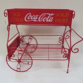 """coca-cola Sold Here"" Cart:"