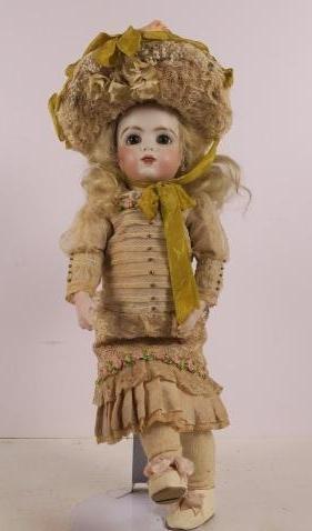 Mary Lambeth Pate 96 French Bru Repro Artist Doll: