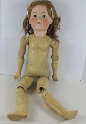 ARMAND MARSAILLE Bisque German Doll: