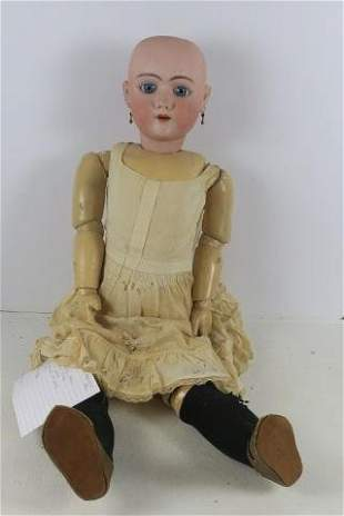 HEINRICH HANDWERK German Porcelain Doll: