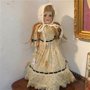 German ARMAND MARSEILLE Bisque Shoulder Head Doll: