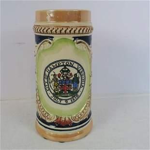 City of Hampton, Virginia Beer Mug: