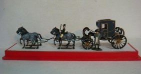 Napoleon Military Carriage 54mm Hand Painted Model: