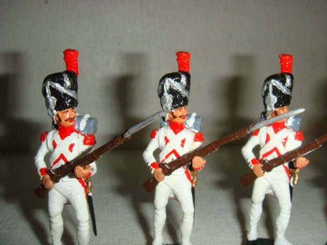 Six Hollandis 54mm Hand painted Model Soldiers: - 2