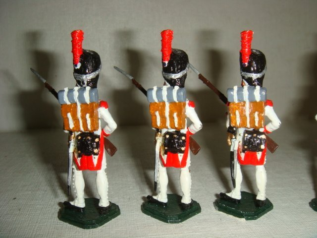 Six Hollandis 54mm Hand painted Model Soldiers: - 3