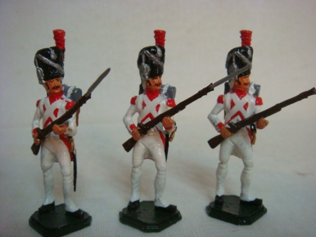 Six Hollandis 54mm Hand painted Model Soldiers: - 4