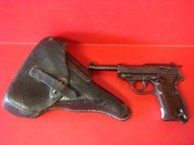 Rare Walter P-38 Byf (mauser) 44 Sa Pistol & Holster: