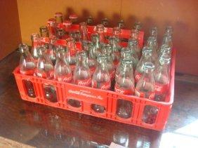 Coca-cola Nostalgic 38 Pony Bottles W/tray & Cartons: