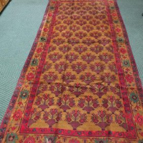 Hand Loomed All Wool Iranian Rug: