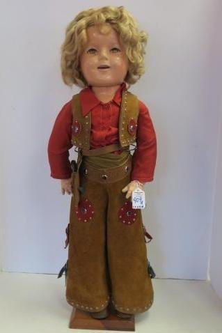 Vintage, 1948 Shirley Temple Composition Doll: