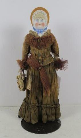 PARIAN Shoulder Bonnet Head Doll: