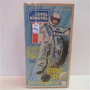"MIB 1973 EVEL KNIEVEL ""Stunt Cycle"":"