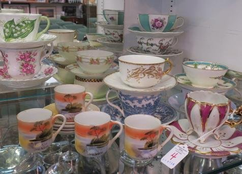15 Sets of Cups and Saucers: