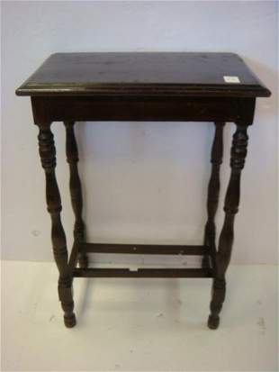Classic Single Tier Small Side Table: