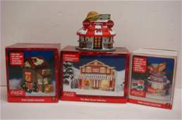 Coca-Cola Nostalgic Town Square & Main St Buildings: