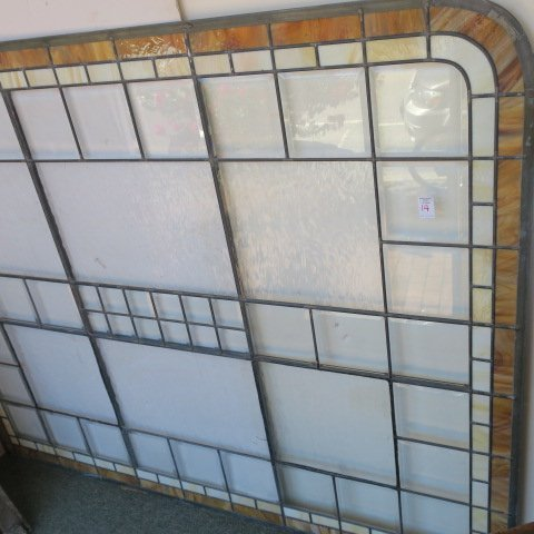 Lead Came Stained Glass Window: