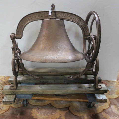Cast Iron FREDERICKTOWN #6 School Bell: