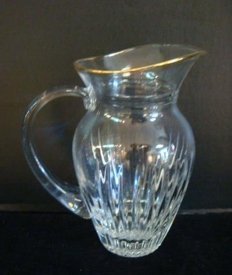 Marquis by WATERFORD Hanover-Gold Pitcher: