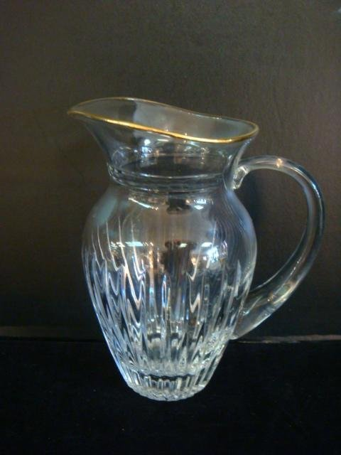 Marquis by WATERFORD Hanover-Gold Pitcher: - 2
