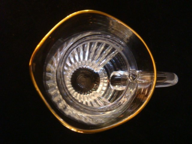 Marquis by WATERFORD Hanover-Gold Pitcher: - 3